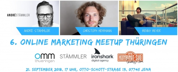 6. Online Marketing Meetup Thüringen